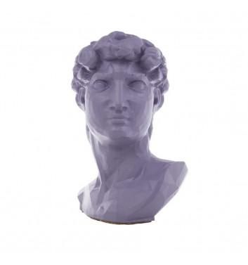 "Pot organizer Vase-Head ""David"" Purple"