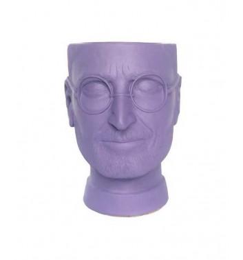 "Вазон-органайзер Vase-Head ""Джобс"" Purple"