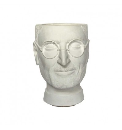 "Вазон-органайзер Vase-Head ""Джобс"" White"