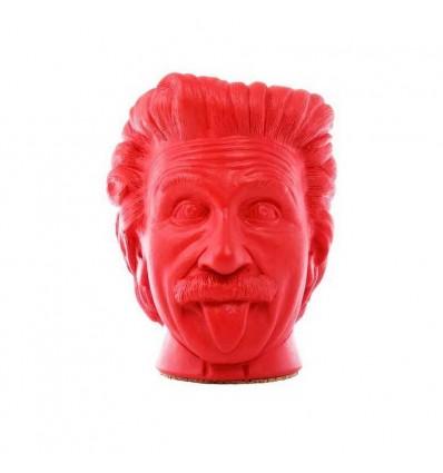 """Вазон-органайзер Vase-Head """"Ейнштейн"""" Red"""
