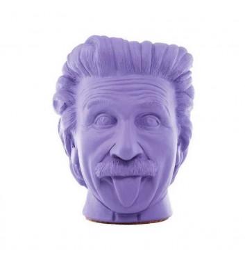 """Вазон-органайзер Vase-Head """"Ейнштейн"""" Purple"""