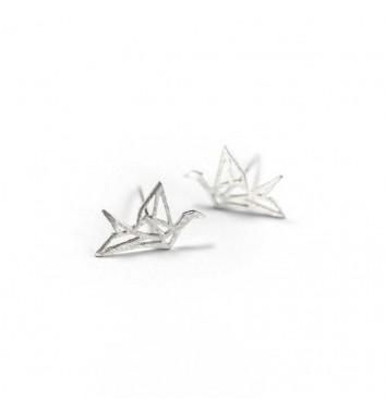 """Сережки """"Origami Bird"""""""