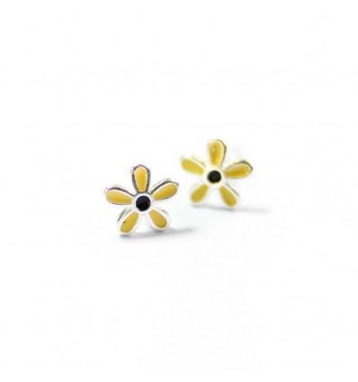 "Серьги ""Yellow flowers"""