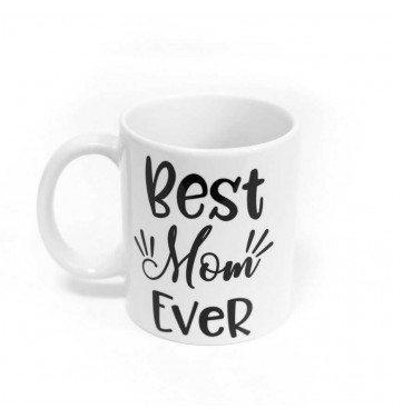 "Cup PM ""Best mom ever"""