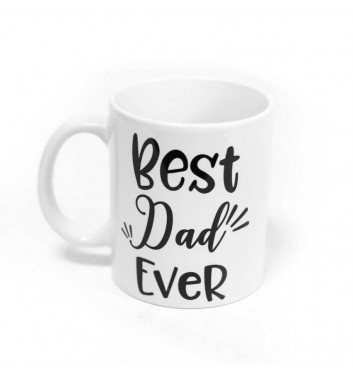 "Чашка ПМ ""Best dad ever"""