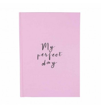 "Diary ""My perfect day"" Mint"