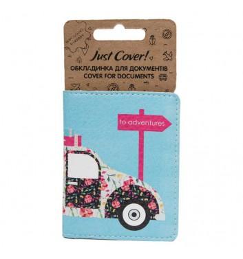 "Cover on ID card ""Retro car"""