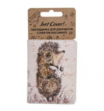 "Cover on ID card ""Hedgehog in the fog"""
