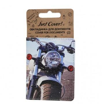 "Обкладинка на ID картку ""Мотоцикл"""