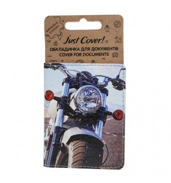 "Обложка на ID карточку ""Мотоцикл"""