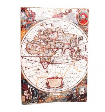 "Cover for passport ""Colorful world map"""
