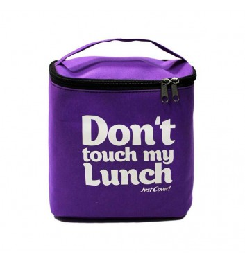 "Lunch-bag ""My lunch"" Maxi Purple"