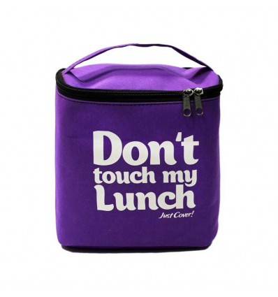 """Lunch-bag """"My lunch"""" Maxi Purple"""
