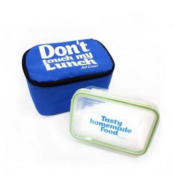 """Lunch-bag """"My lunch"""" Standart Light Blue"""