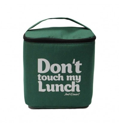 """Lunch-bag """"My lunch"""" Maxi Green"""