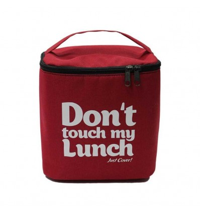 """Lunch-bag """"My lunch"""" Maxi Red"""