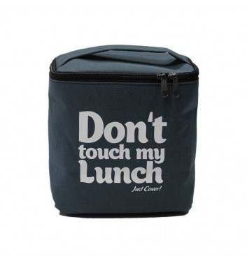 "Lunch-bag ""My lunch"" Maxi Gray"