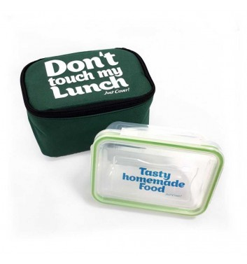 "Lunch-bag ""My lunch"" Standart Green"