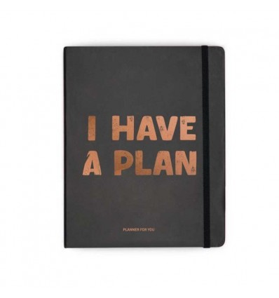 Планер «I have a plan» Чорний