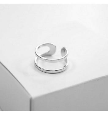 Каблучка Argent jewellery Two straight lines