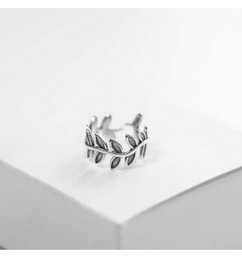 Ring Argent jewellery Wide branch