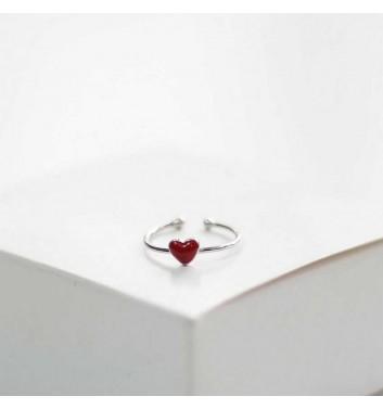 Каблучка Argent jewellery Red heart