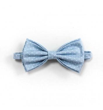 Bow tie Sho made Blue light dots 2.0