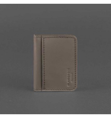 Card Case Blanknote 4.0 (with a window) Mocha