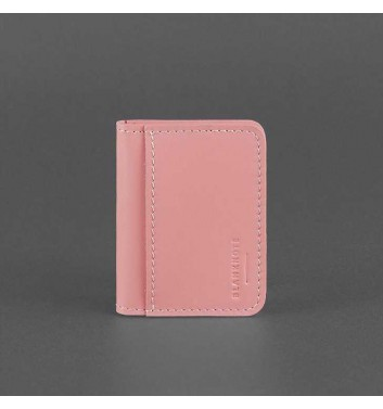 Кард-кейс Blanknote 4.0 (з віконцем) Рожевий