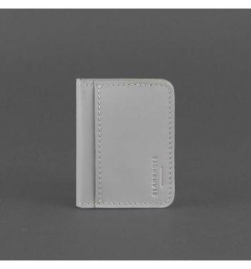 Кард-кейс Blanknote 4.0 (з віконцем) Сірий