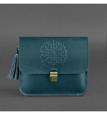Бохо-сумка Blanknote Лилу Малахит