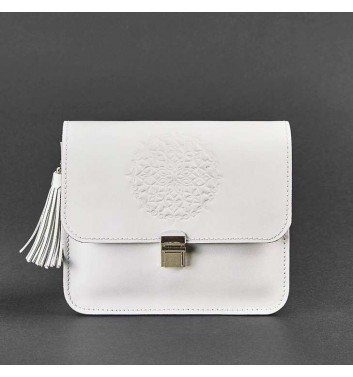 Бохо-сумка Blanknote Лілу Білий