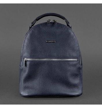 Рюкзак шкіряний Blanknote Kylie Синій