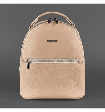 Рюкзак кожаный Blanknote Kylie Крем-брюле