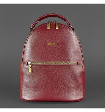 Рюкзак кожаный Blanknote Kylie Марсала