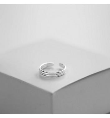 Каблучка Argent jewellery Three small lines