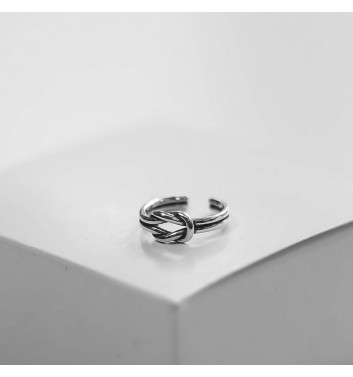 Ring Argent jewellery Knot