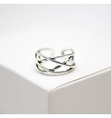Каблучка Argent jewellery Four interlaced lines