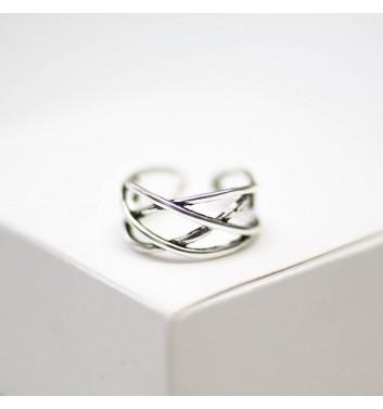 Кольцо Argent jewellery Four interlaced lines