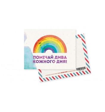 Мини-открытка Mirabella postcards Дива