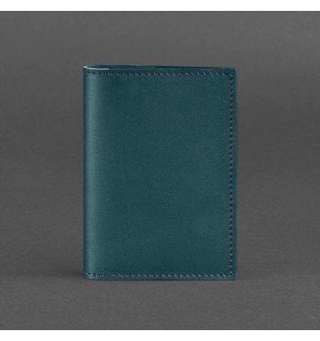 Обкладинка для паспорта Blanknote 1.2 Малахіт