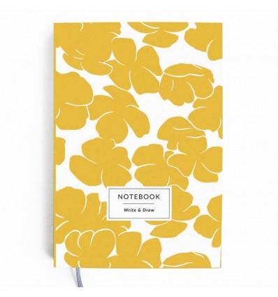"""Блокнот Write&Draw """"Yellow Flowers"""""""