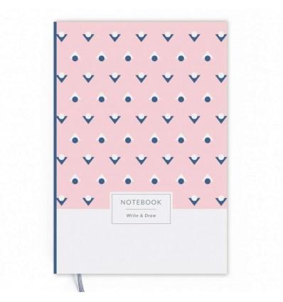 """Блокнот Write&Draw """"Pink Dots"""""""