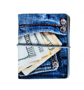 Business card holder Jeans Money