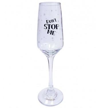 Бокал для шампанського Papa Design Don't stop me