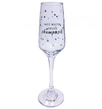 Glass for champagne Papa Design Shampusik