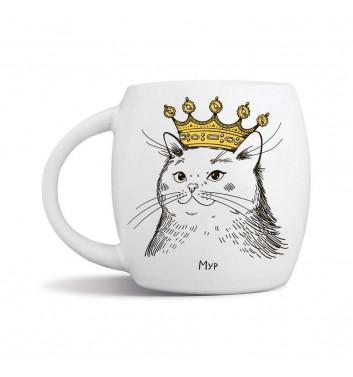 Кружка Orner Store Кошка в короне