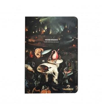 Скетчбук Hiver Books Bosch Hell: А5 (XL)