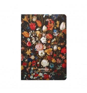 Скетчбук Hiver Books Flowers: А5 (XL)