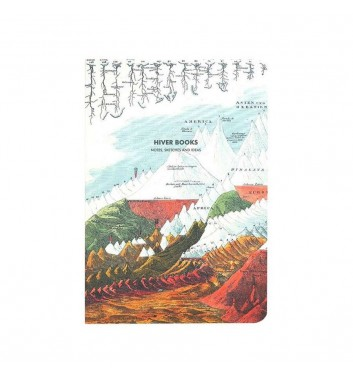 Скетчбук Hiver Books Mountain and River: А5 (XL)
